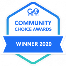 2020 Go Overseas Community Choice Award Winner