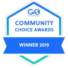 2019 Go Overseas Community Choice Award Winner