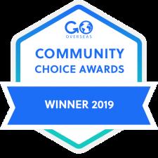 2019 Go Overseas Community Choice Award Winner