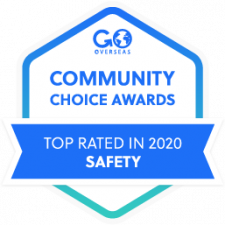 2020 Go Overseas Community Choice Award Winner in Program Safety