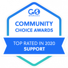 2020 Go Overseas Community Choice Award Winner in Program Support
