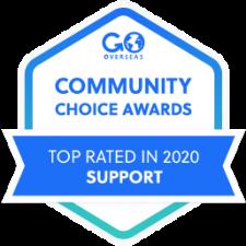 2020 Go Overseas Community Choice Award Winner in Program Support
